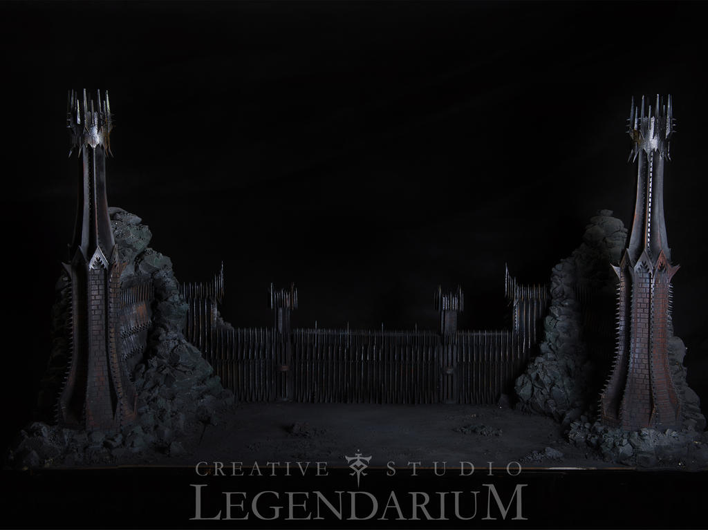 Morannon Miniature by LegendariumStudio