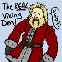 Real Vikings Have Beards by iPl0x