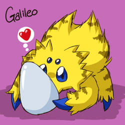 Galileo's Lucky Egg