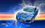 HD Wallpaper: Mazda RX 8 R by Dooffy Design