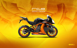 Bike Wallpaper 686 Dooffy - RC8 KTM by Dooffy-Design