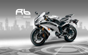 Bike Wallpaper 687 Dooffy Yamaha R6 by Dooffy-Design