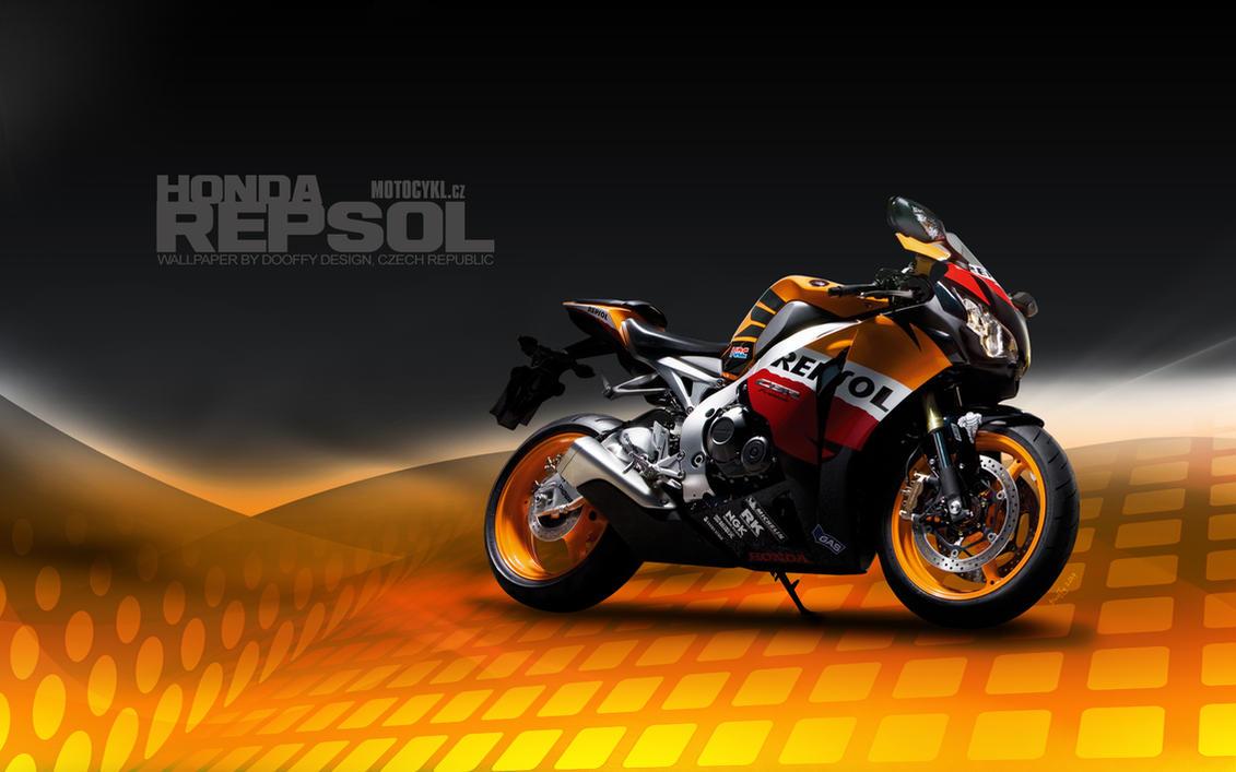 Bike Wallpaper 689 Dooffy - Honda Repsol by Dooffy-Design