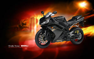 Bike Wallpaper 690 Dooffy - Yamaha by Dooffy-Design