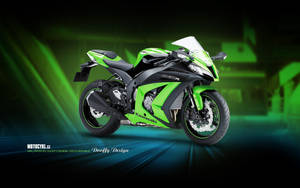 Bike Wallpaper 691 Dooffy - Kawasaki by Dooffy-Design
