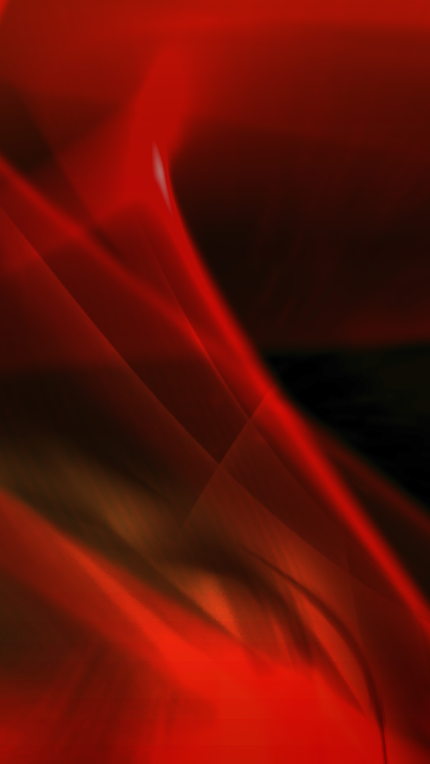 Wallpaper Samsung Galaxy S6 Red Wave By Dooffy By Dooffy
