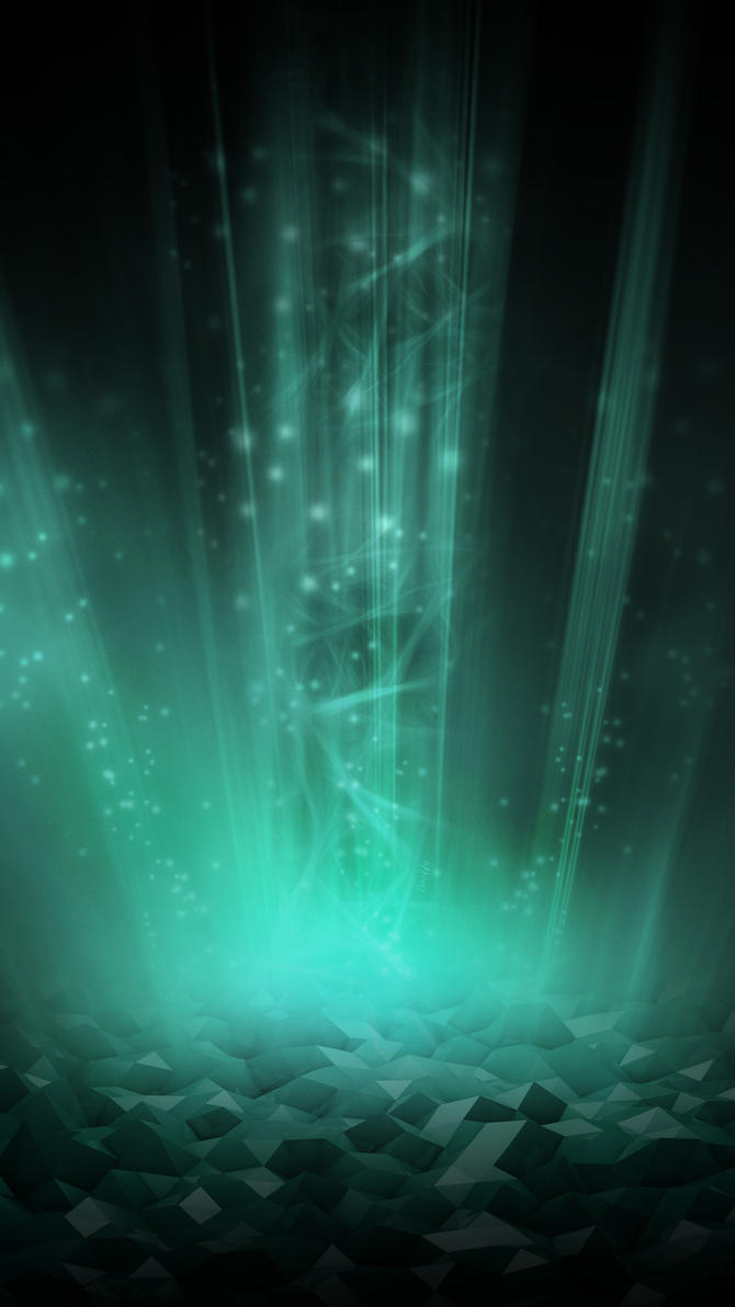 Wallpaper Samsung Galaxy S6 - Emeralds (by Dooffy) by Dooffy-Design