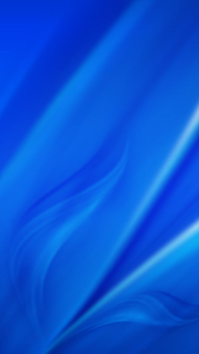 Wallpaper Samsung Galaxy S6 - Blue (by Dooffy) by Dooffy-Design