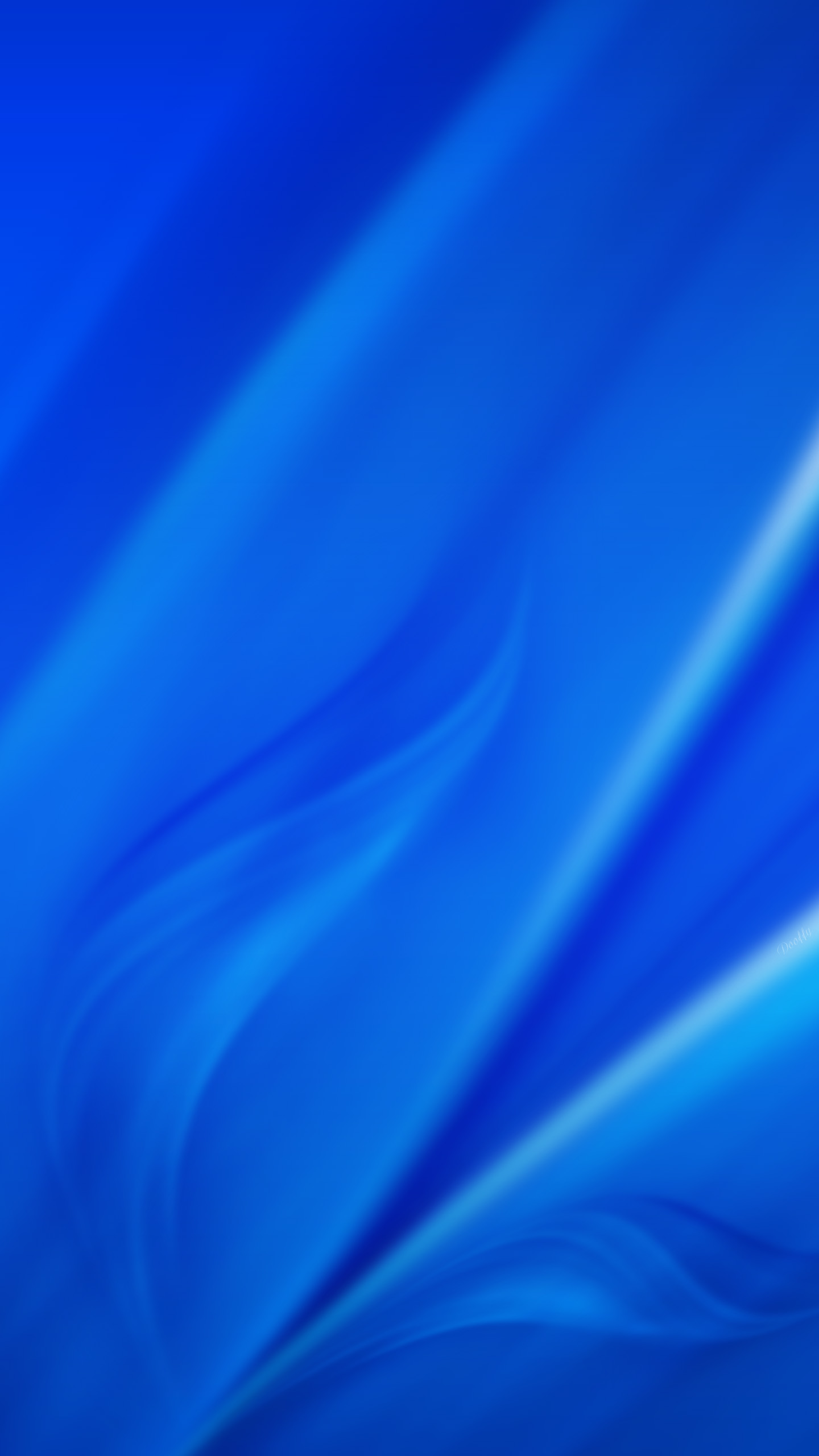 wallpaper samsung galaxy s6 - blue (by dooffy)dooffy-design on