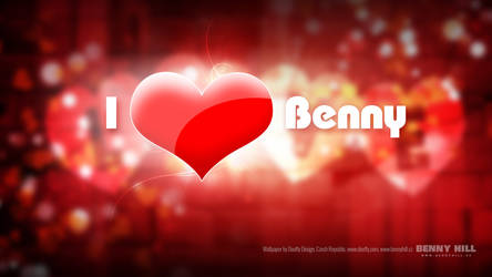 Wallpaper I love Benny (UHD 4K 3840x2160px) by Dooffy-Design