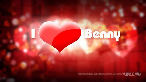 Wallpaper I love Benny (UHD 4K 3840x2160px)
