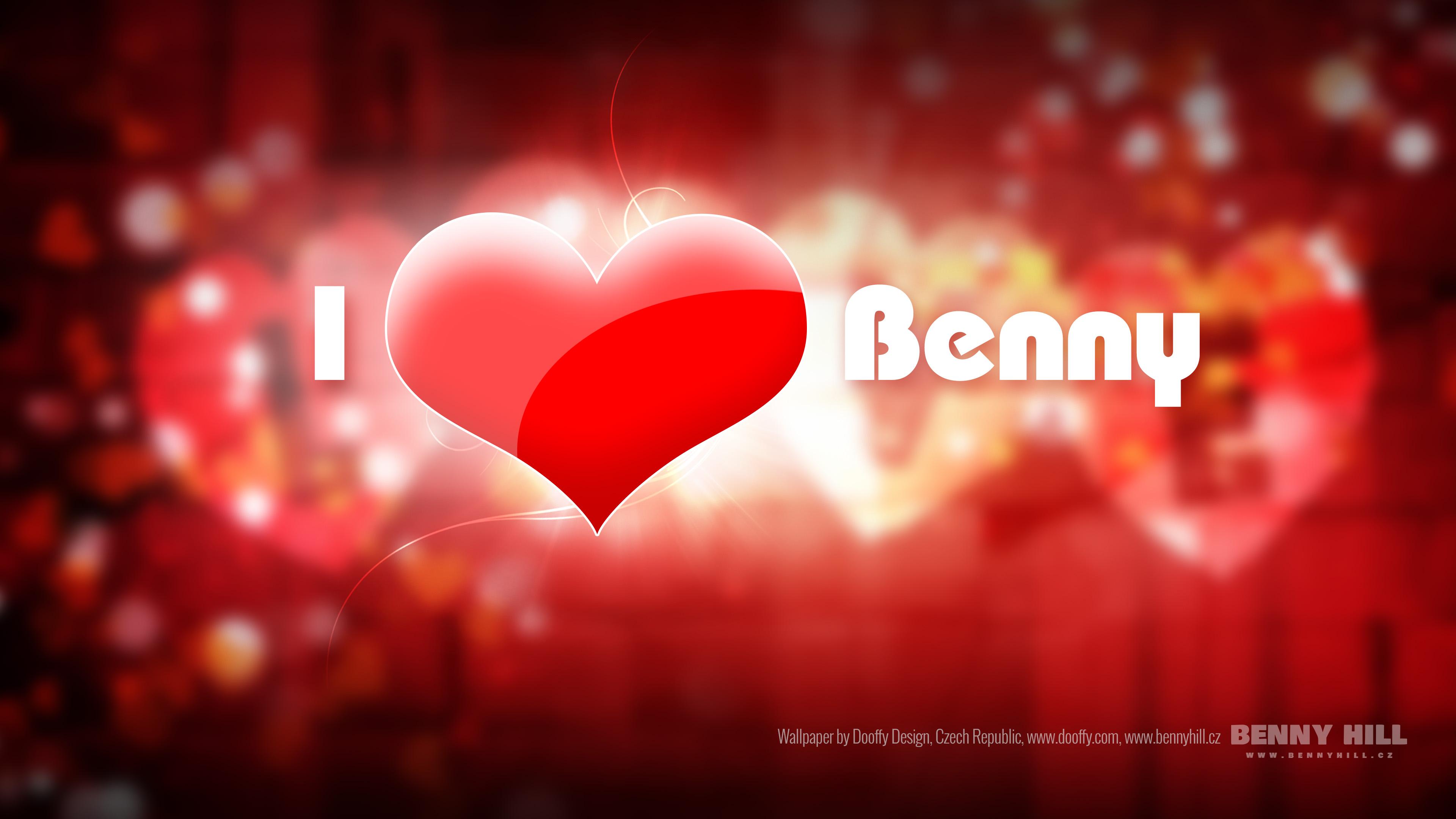 Love Wallpaper Uhd : Wallpaper I love Benny (UHD 4K 3840x2160px) by Dooffy-Design on DeviantArt