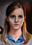 Emma Watson (colored pencil)