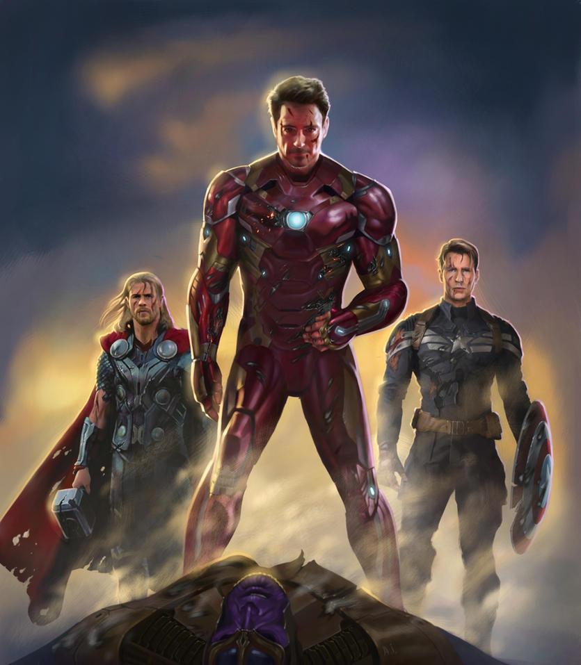 avengers infinity war by AvdeevIgor