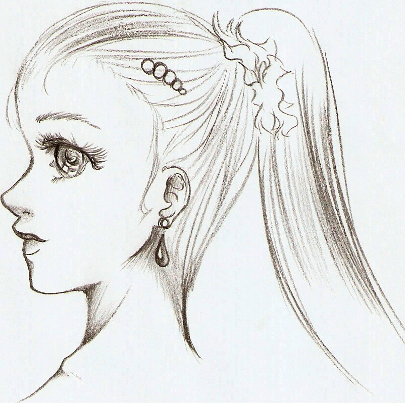 Side View Face by Nyra992 on DeviantArt