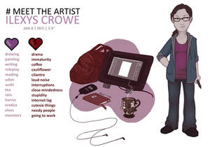 Meet The Artist - Ilexys Crowe