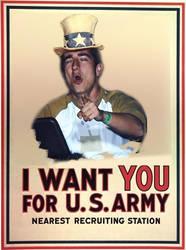 Edu wants u for the navy