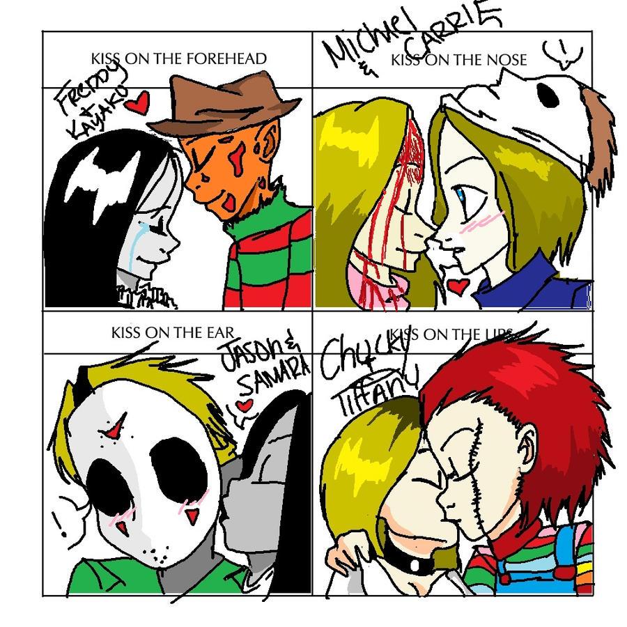 Freddy Krueger Meme Kiss meme: horror style by Leatherface Funny Meme ...