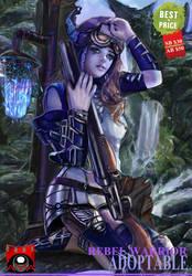 Rebel Warrior adoptable (OPEN) by AVA-core