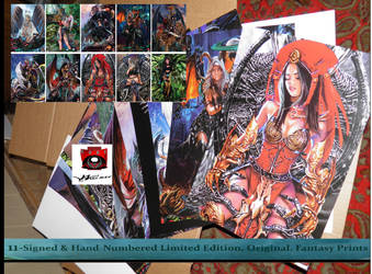 11 Fantasy Prints For $25 with sending by AVA-core