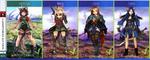 4 OC- Perila, Liora, Lorin (  Auction Open ) by AVA-core