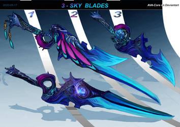 3 - SKY blades  ( Adoptables closed