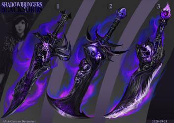 3- Shadowbringers Blackswords ($32 each )