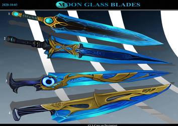 4 - Moon Glass Blades ( Adoptables open )