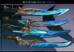 4 - Blue LIght Blades ( Adoptables  open )