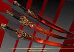 3- Fire,s Breath  Swords  - Adoptables open