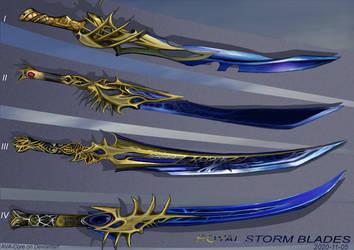 4-Royal Storm Blades - Adoptables open