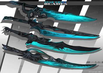 4- Star Light Blades  - Adoptables open