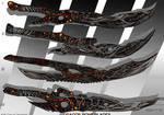 4- Dragon bone blades - Adoptables open