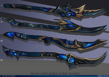 4- Blue light magic staff blades ( Adoptables open