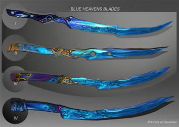 4- Blue Heaven,s  BLADES - Adoptables open