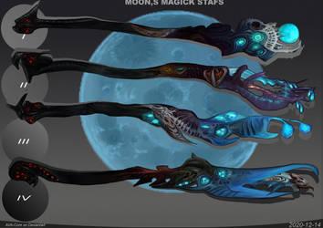 4- Moons's magic staffs  Adoptables open
