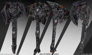 HellStorm axes - Adoptables open