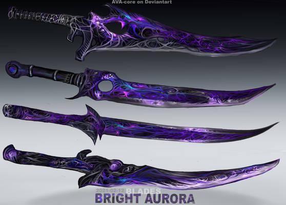 4-Bright Aurora blades - Adoptables open