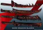 4-Dark dragon blades - Adoptables open