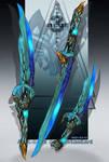 Blue ocean blades - Adoptable auction  SB $45