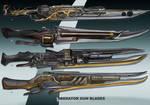 4- Liberator Gun blades  - Adoptables open