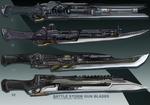4- Battle storm  Gun blades  - Adoptables open