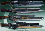 4- Raven  Gun blades  - Adoptables open