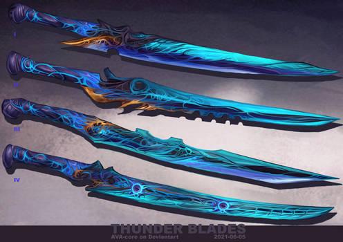 4- Thunder blades  - Adoptables open