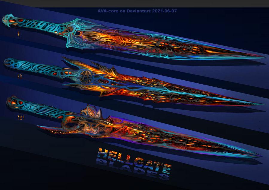 3- Hellgate blades - Adoptables open