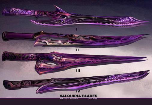 4- Valquiria blades  - Adoptables open
