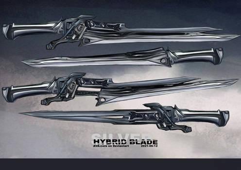 Silver hybrid blade - Adoptable closed