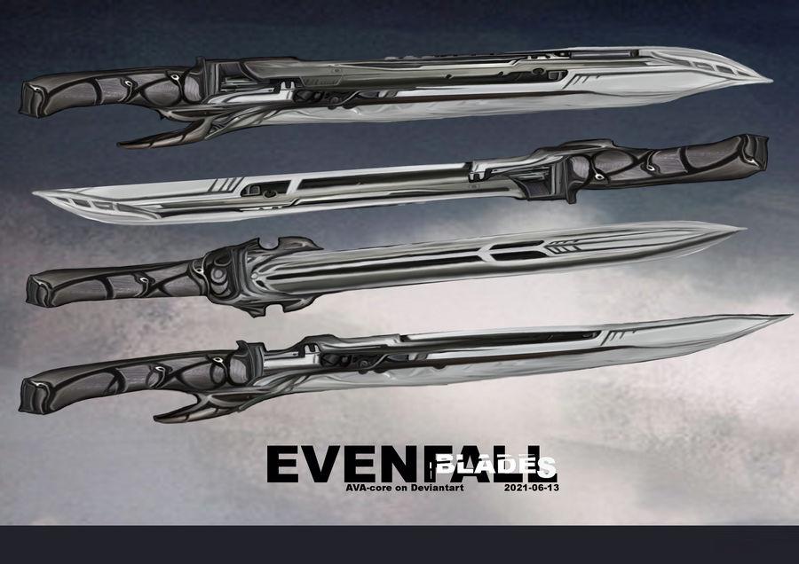 Evenfall blades - Adoptable closed