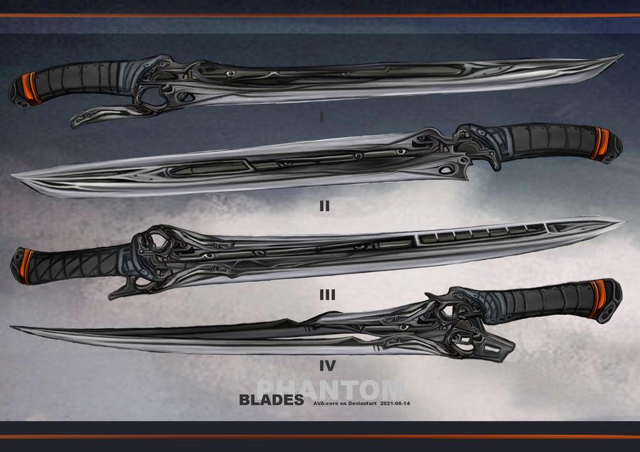 4-Phantom blades  - Adoptables open