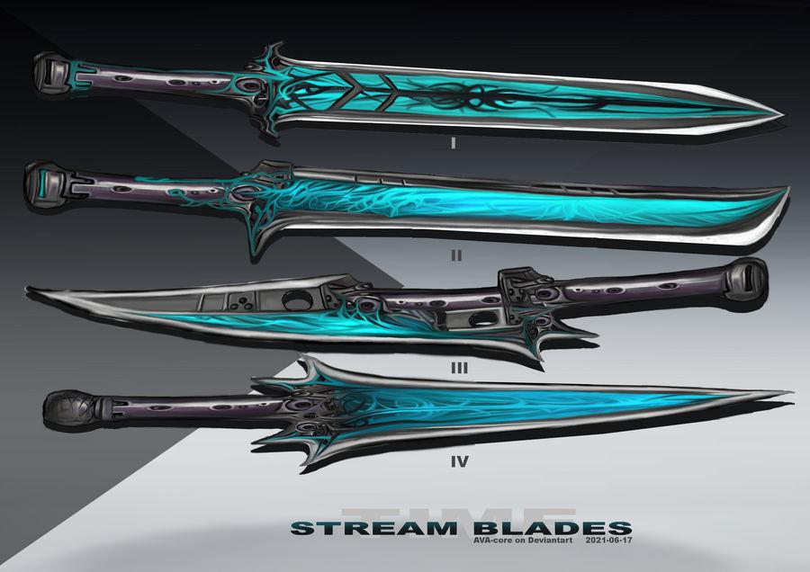 4-Time stream blades  - Adoptables open